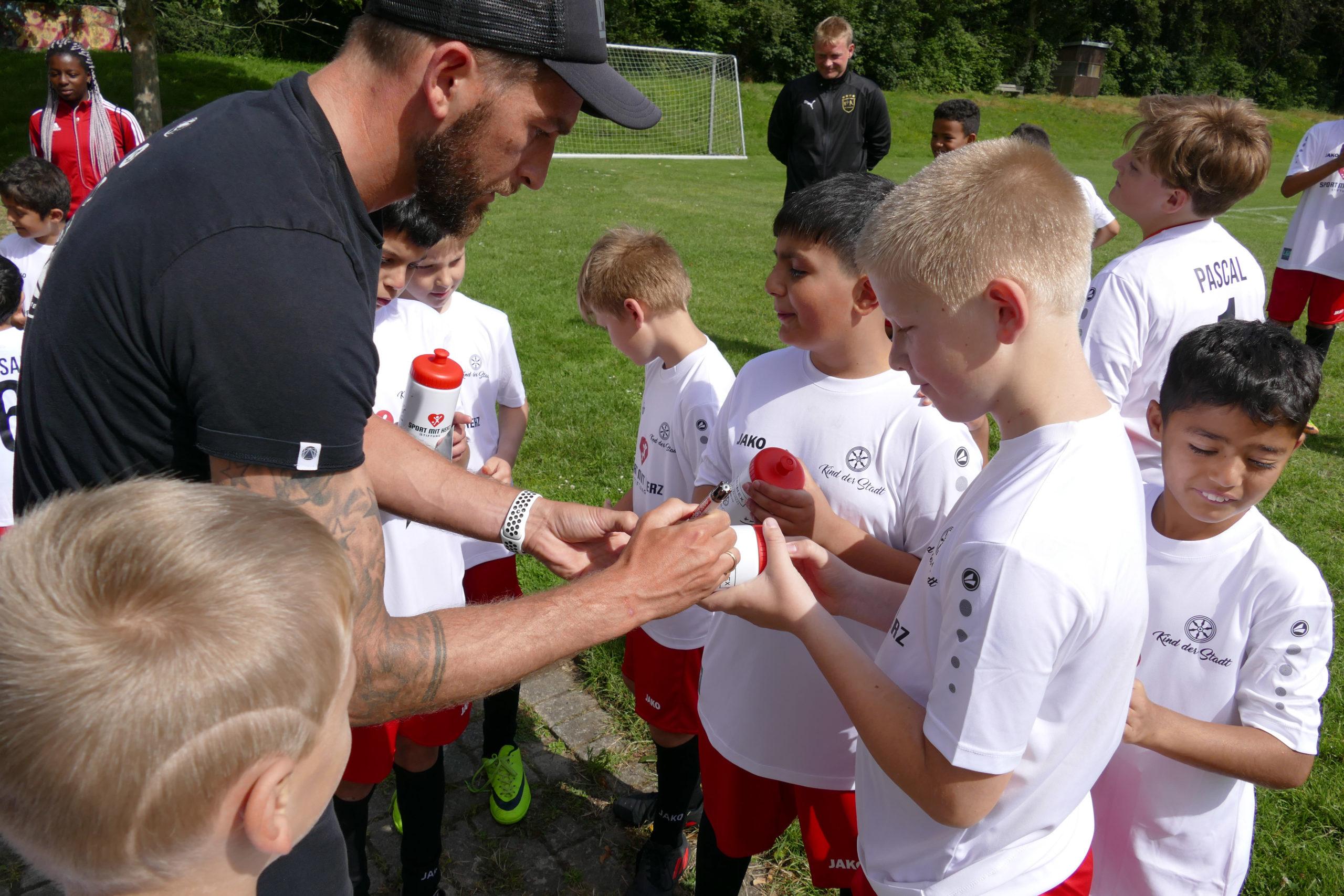 Soziales Fußball-Camp im SV Nortrup